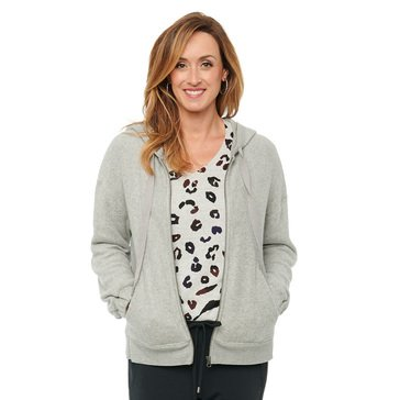 Democracy Women's Cozy Zip Hoodie