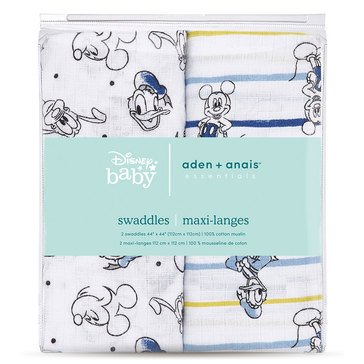 Disney Mickey Stargazer Swaddles 2 Pack