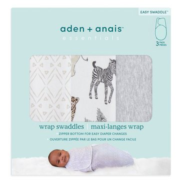 Aden Anais Toile Easy Wrap Swaddles 3 Pack