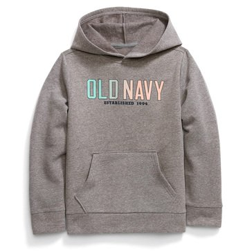 Old Navy Big Boy's Logo Pullover Hoodie