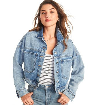 Old Navy Women's Cropped Trucker Jacket