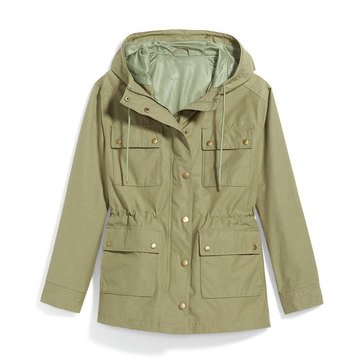 Old Navy Women's Tech Utility Hooded Jacket
