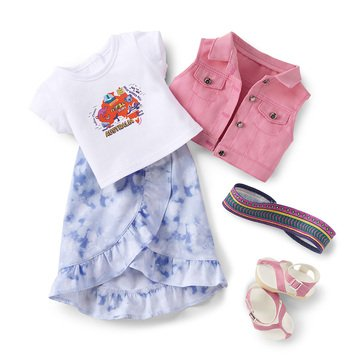 American Girl 2021 Girl of the Year Kira's Casual Outfit