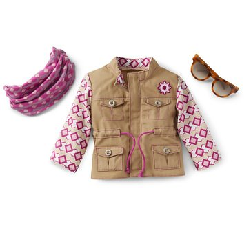 American Girl 2021 Girl of the Year Kira's Outdoor Accessories