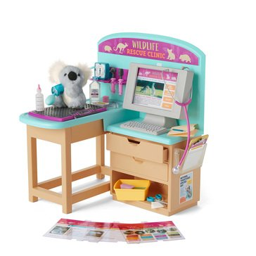 American Girl 2021 Girl of the Year Kira's Animal Exam Table