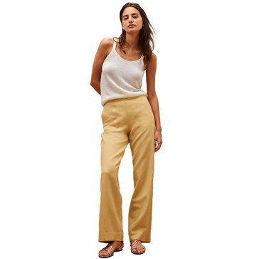 Banana Republic Women's High Rise Linen Wide Leg Pants