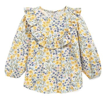 Old Navy Baby Girls' Floral Woven Ruffle Tunic Top