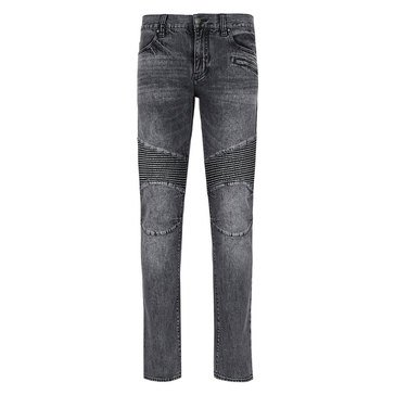 Armani Exchange Stretch Moto Denim Jean
