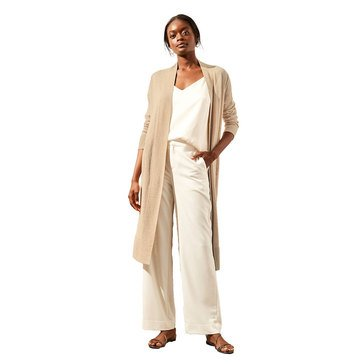 Banana Republic Women's Linen Blend Long Cardigan