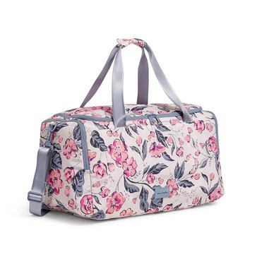 Vera Bradley Hummingbird Blooms ReActive Travel Duffel