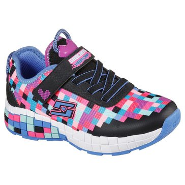 Skechers Kids Little Girls' Power Pixels Sneaker