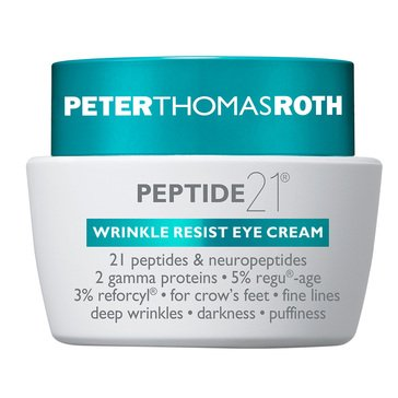 Peter Thomas Roth Peptide 21 Wrinkle Resist Eye Cream 0.5oz