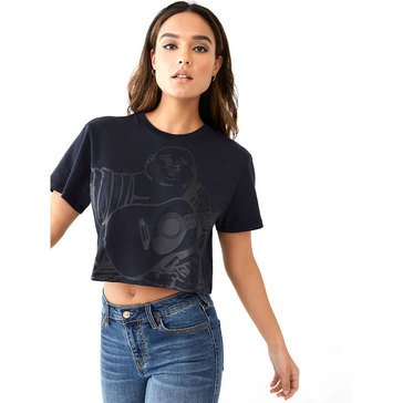 True Religion Women's Oversize Bella Crop