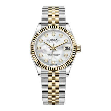 Rolex Men's Datejust Diamond Jubilee Bracelet Watch
