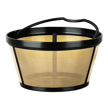 Mr. Coffee Basket-Style Gold Tone 10-12 Cup Permanent Filter (GTF2)
