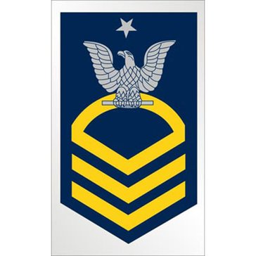 Mitchell Proffitt USN E-8 SCPO Decal