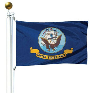 Eder 3'x5' Navy Flag U.S. Armed Forces