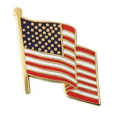Mitchell Proffit USA Flag Lapel Pin