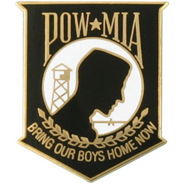 Mitchell Proffitt POW/MIA Lapel Pin