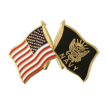 Mitchell Proffitt USN Flag Pin