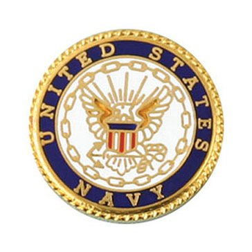Mitchell Proffitt USN Round Lapel Pin
