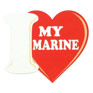 Mitchell Proffitt I Love My Marine Decal