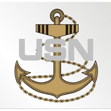 Mitchell Proffitt USN Navy CPO E-7 Anchor Decal