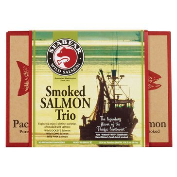 Seabear Smoked Salmon Trio 18 oz