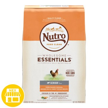 Nutro Choice Senior Dry Dog Food, 15 lbs.