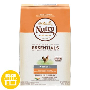 Nutro Natural Choice Senior Dry Dog Food, 30 lbs.