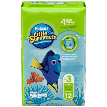 Huggies Little Swimmers - Size Small, 12-Count