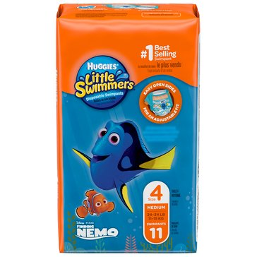 Huggies Little Swimmers - Size Medium, 12-Count