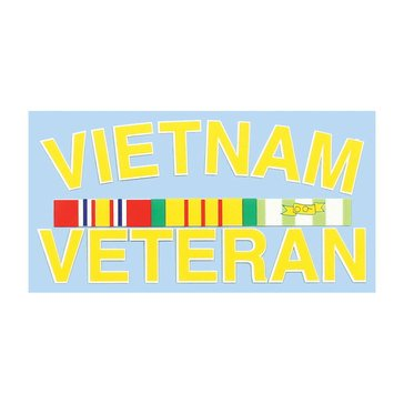 Mitchell Proffitt VIETNAM VET with Ribbons Sticker