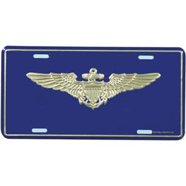 Mitchell Proffitt USN Naval Aviator License Plate