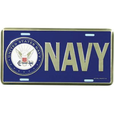 Mitchell Proffitt USN with Insignia License Plate