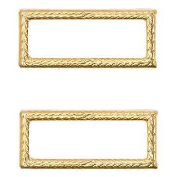 Attachment USA Gold Frame Large