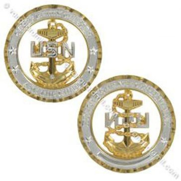 Vanguard CPO Chief Coin Cut Out Anchor