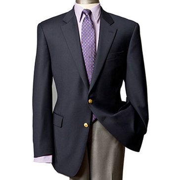 Lauren Blazer-Men's Single Breasted Blazer-Dark Blue