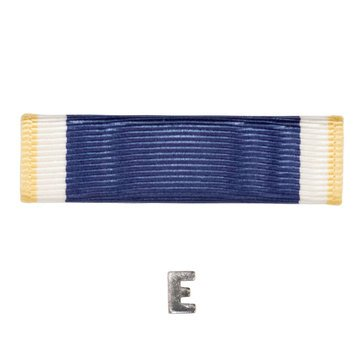 Ribbon Unit Navy Letter E with E Attachment