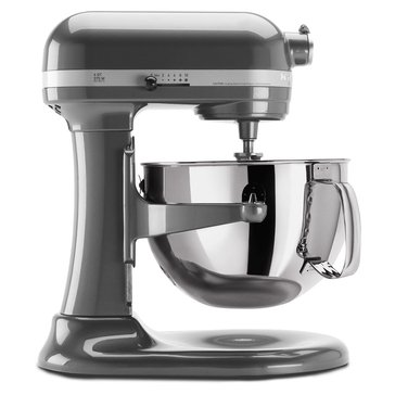KitchenAid Professional 600 Series 6-Quart Bowl-Lift Stand Mixer - Pearl Metallic (KP26M1XPM)