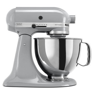 KitchenAid Artisan Series 5-Quart Tilt-Head Stand Mixer - Metallic Chrome (KSM150PSMC)
