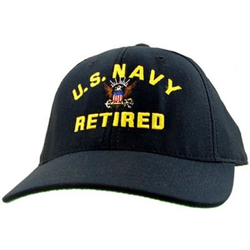 Eagle Crest USN Cap, US Navy Retired