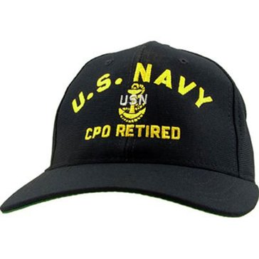 Eagle Crest USN Cap, CPO Retired