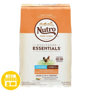 Nutro Choice Large Breed Adult Dry Dog Food, 30 lbs.