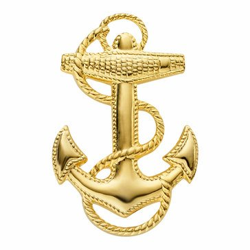 Mitchell Proffitt USN 3-D Anchor Lapel Pin