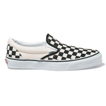 Vans Classic Slip-On Unisex Skate Shoe Black/ White Check