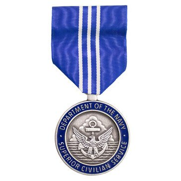 Medal Large Navy Superior Civilian Service