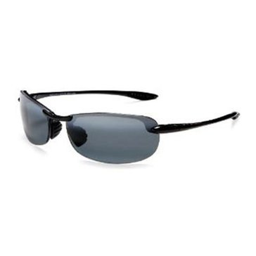 Maui Jim Women's Makaha Polarized Sunglasses 405-2, Black 65mm