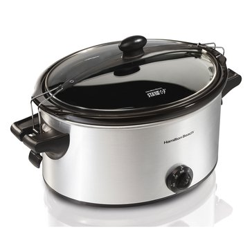 Hamilton Beach Stay or Go 6-Quart Slow Cooker (33262)