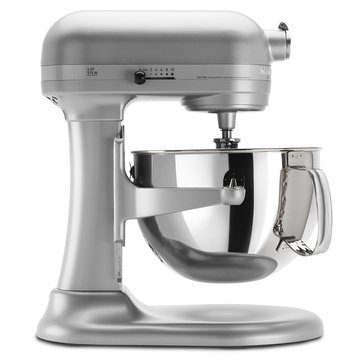 KitchenAid Professional 600 Series 6-Quart Bowl-Lift Stand Mixer - Nickel Pearl (KP26M1XNP)